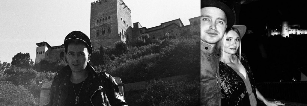 Famosos en Granada: Strummer / Aaron Paul, en La Alhambra