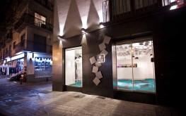 Fachada del Hotel Marquis Urban en Granada