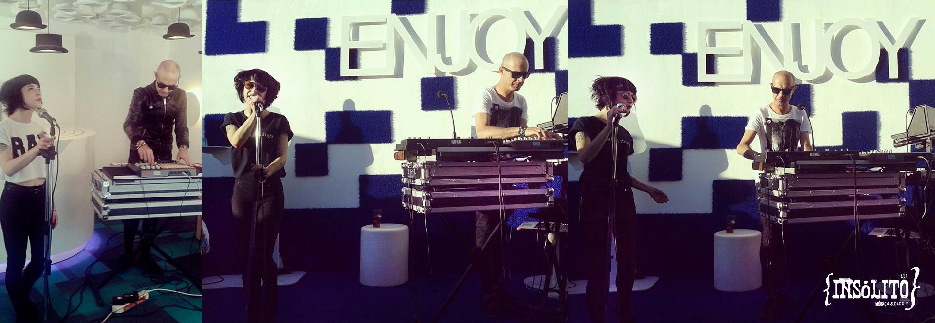 Concierto de We Are Robots. Insólito Festival. Música & Barrio_ Marquis Urban