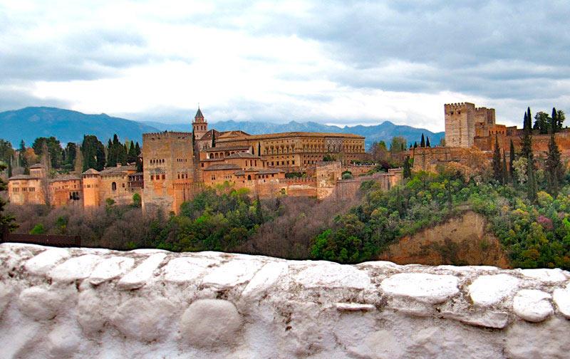 Alhambra Granada desde mirador